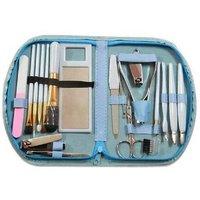 NewveZ 18 in 1 Make Up Cosmetics Brush Gift Set Tool Kit