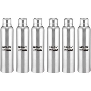 Buy Stainless Steel Cooling Freezer Bottle Set Of 2 650ml Silver