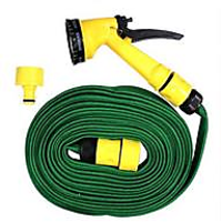 Pressure Washing Multifunctional Water Spray Jet Gun 10 Meter Hose Pipe JS