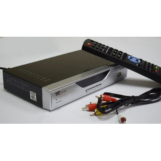 STC Free To Air Set Top Box with 2 USB Port + 1 HDMI Port H-103 (No Monthly Recharge)