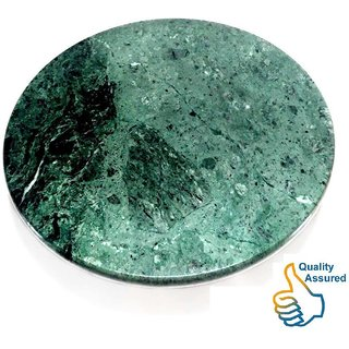 Chakla - 10 Inches Green Marble