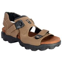 Bunkeys Men's Beige Casual Sandals