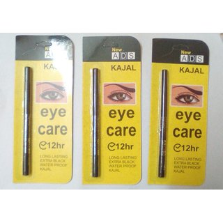 Water-Proof EYE LINER for Women (Pack of 3)