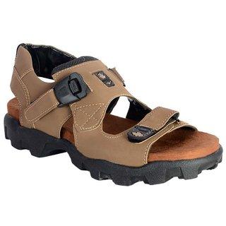 Bunkeys Men's Beige Casual Sandals