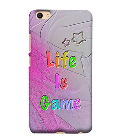 99sublimation VivoY66 Life Is Game Quotes 3D D1625