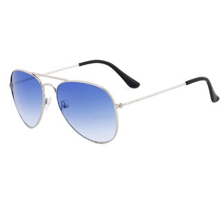 53354911ca Royal Son UV Protected Aviator Sunglasses For Men And Women (SHOPCLUES0155  58 Blue Lens)