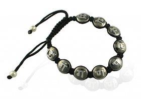 Ganesh Mantra Bracelet Silver