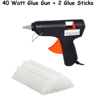 Hot Melt Glue Gun with 40 Watt Two Glue Sticks Free