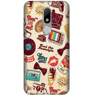 Akogare Back Cover For Motorola Moto M BAEMOM1422