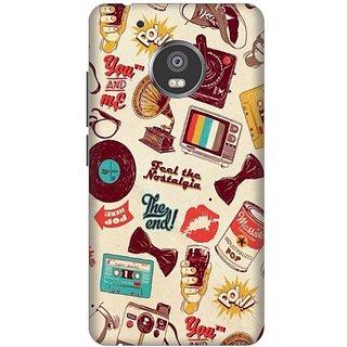 Akogare Back Cover For Motorola Moto G5 Plus BAEMOG51422