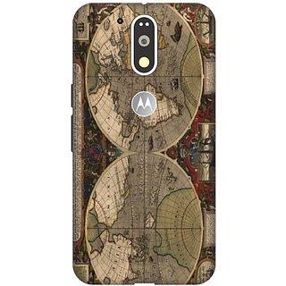 Akogare Back Cover For Motorola Moto G4 Plus BAEMG4P1173