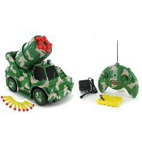 Rechargeable Rc Remote Controlled Missile Launcher Truck/car Js