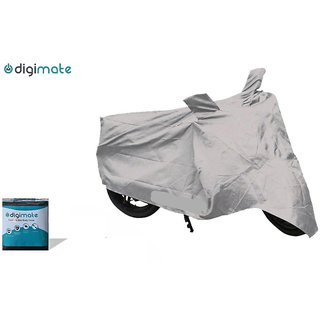 Digimate Water Resistant Scooty Cover for All Scooties - Silver