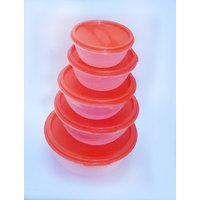 Store Fresh Set Of 5 Pieces Storage Containers With Cover Diwali Special Gift