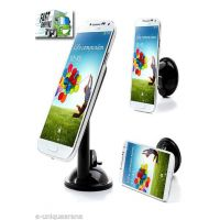 Universal 360 Degree Rotating Mobile Stand / Holder Car Mount Suction Cup