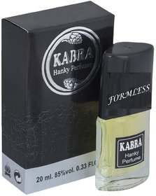 Carrolite Kabra Formless Black 20ml Perfume For Men and Women