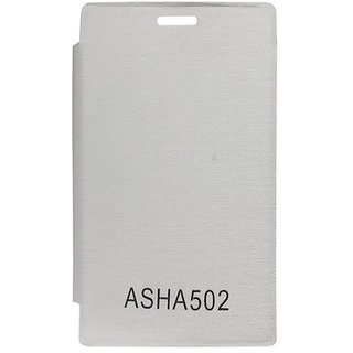 Camphor Flip Cover Case For Nokia Asha 502