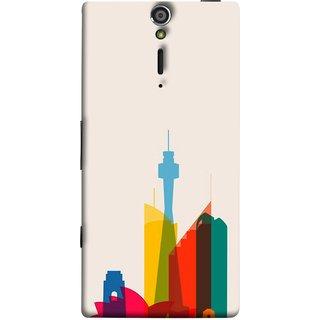 FUSON Designer Back Case Cover for Sony Xperia SL :: Sony Xperia S :: Sony Xperia SL LT26I LT26ii (Industrial Best Wallpaper Design India America Asia Uae)