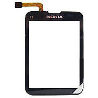 Replacement Front Touch Screen Glass Digitizer For Nokia X3-01 X3 01 Black