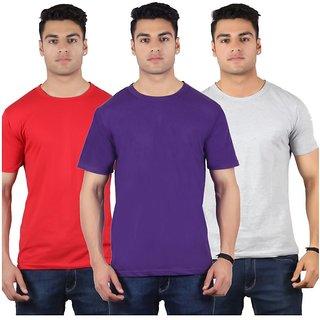 Diaz Multi Round T-Shirt Pack Of 3