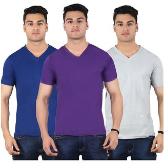 Diaz Multi Round T Shirt Pack Of 3
