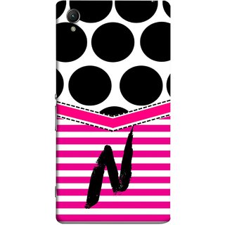 FUSON Designer Back Case Cover for Sony Xperia X :: Sony Xperia X Dual F5122 (Beautiful Cute Nice Couples Pink Design Paper Girly N)