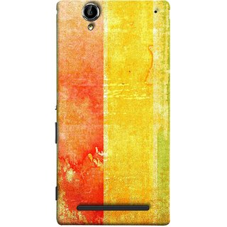 FUSON Designer Back Case Cover for Sony Xperia T2 Ultra :: Sony Xperia T2 Ultra Dual SIM D5322 :: Sony Xperia T2 Ultra XM50h (Colors Colorful Abstract Painting Art Vector Painted )