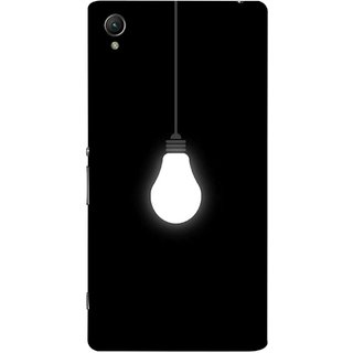 FUSON Designer Back Case Cover for Sony Xperia X :: Sony Xperia X Dual F5122 (Hanging Light Bulb In Dark Room Ceiling Darkness )