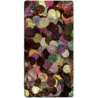 FUSON Designer Back Case Cover for Sony Xperia T3 (Coins Pennies Money Currency Cash Finance Banking)