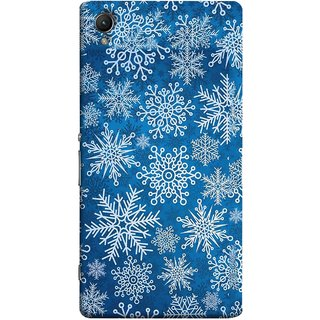 FUSON Designer Back Case Cover for Sony Xperia X :: Sony Xperia X Dual F5122 (Different Size Winter Snow Enjoying Pattern World)