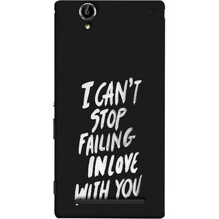 FUSON Designer Back Case Cover for Sony Xperia T2 Ultra :: Sony Xperia T2 Ultra Dual SIM D5322 :: Sony Xperia T2 Ultra XM50h (Best Quotes Love Words Always Happy Together)