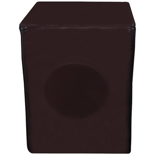 Glassiano coffee colored Waterproof & Dustproof washing machine cover for all PANASONIC fully automatic front load 5.5Kg-8.5kg washing machine