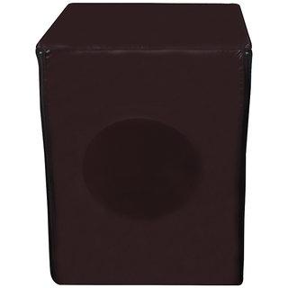 Glassiano coffee colored Waterproof & Dustproof Washing Machine Cover For IFB fully automatic Front Load Eva Aqua SX 6Kg washing machine