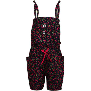 Arshia Fashions Girls Cotton Jumpsuit