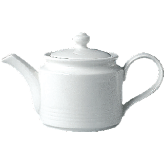 Rak Rondo White Colour Tea Pot With Lid Breakfast Set DNR100207