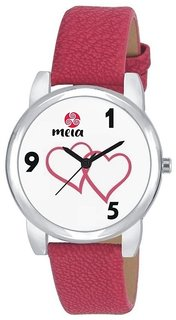 MEIA WOMEN'S WATCH TWO HEART 159