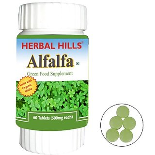 Herbal Organic Green Food Alfalfa (Buy 1 Get 1)