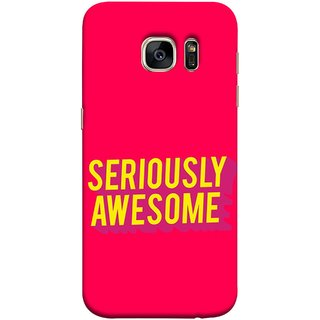 FUSON Designer Back Case Cover for Samsung Galaxy S7 :: Samsung Galaxy S7 Duos :: Samsung Galaxy S7 G930F G930 G930Fd (Take Your Dreams Seriously Very Beautiful Best )