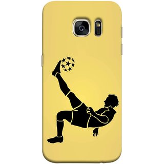 FUSON Designer Back Case Cover for Samsung Galaxy S7 Edge :: Samsung Galaxy S7 Edge Duos :: Samsung Galaxy S7 Edge G935F G935 G935Fd  (Uefa Champions League Starball Player Fifa )