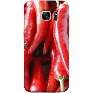 FUSON Designer Back Case Cover for Samsung Galaxy S7 Edge :: Samsung Galaxy S7 Edge Duos :: Samsung Galaxy S7 Edge G935F G935 G935Fd  (India Business Hot Sauces Farm Fresh Pickles Kitchen)