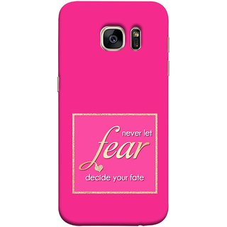 FUSON Designer Back Case Cover for Samsung Galaxy S7 :: Samsung Galaxy S7 Duos :: Samsung Galaxy S7 G930F G930 G930Fd (Aaron Bruno Love Quotes And Inspiration Motivational)