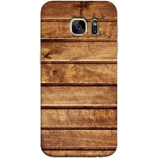 FUSON Designer Back Case Cover for Samsung Galaxy S7 Edge :: Samsung Galaxy S7 Edge Duos :: Samsung Galaxy S7 Edge G935F G935 G935Fd  (Wood Furniture Table Door Solid Beautiful Art Wallpaper)