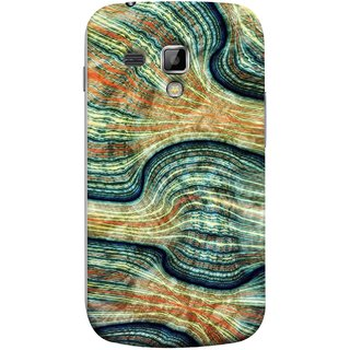 FUSON Designer Back Case Cover for Samsung Galaxy S Duos S7562 (Rivers Lining Artist Perfect Waves Wavelength)