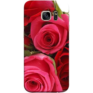 FUSON Designer Back Case Cover for Samsung Galaxy S7 Edge :: Samsung Galaxy S7 Edge Duos :: Samsung Galaxy S7 Edge G935F G935 G935Fd  (Close Up Red Roses Chocolate Hearts For Valentines Day)