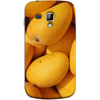 FUSON Designer Back Case Cover for Samsung Galaxy S Duos S7562 (Jungle Sweet Villages Fruits Hapoos Langda )
