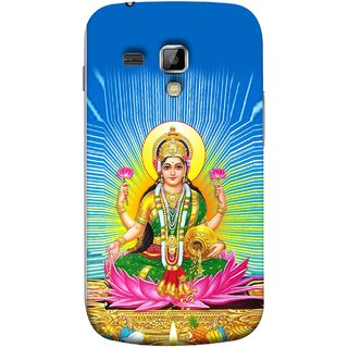 FUSON Designer Back Case Cover for Samsung Galaxy S Duos S7562 (Maa Dhan Lakshmi Hindu Parvati Saraswati Shankar)