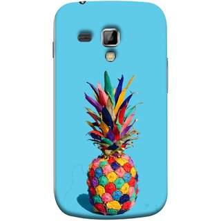 FUSON Designer Back Case Cover for Samsung Galaxy S Duos S7562 (Light Bright Cream Pineapple Lamp Ananas Pineapple Skin)