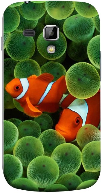 Buy Fuson Designer Back Case Cover For Samsung Galaxy S Duos 2 S7582 Samsung Galaxy Trend Plus S7580 White Orange Two Fish Water Salt Best Wallpapers Sea Online 520 From Shopclues