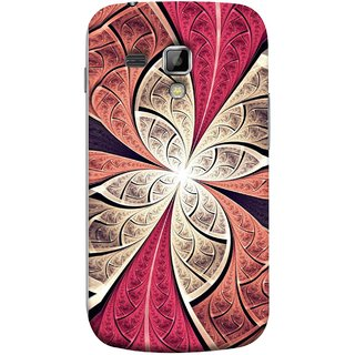 FUSON Designer Back Case Cover for Samsung Galaxy S Duos 2 S7582 :: Samsung Galaxy Trend Plus S7580 (Heart Shape Pink Leaves Rivers Artist Perfect Waves )