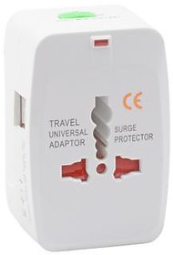 Universal Travel Adapter With Dual USB Ports